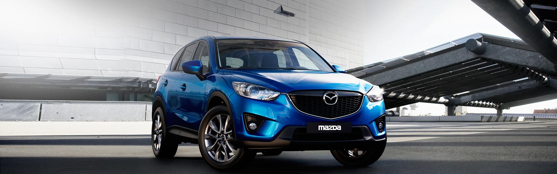 Радиатор на Mazda